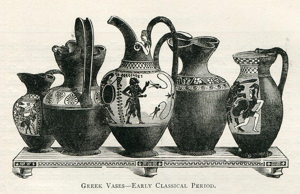 Filegreek Vases Early Classical Period Mahaffy John Pentland
