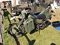 Green Harley Davidson military motorcycle.JPG