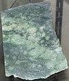 Green nephrite jade (Precambrian; Jeffrey City area, Wyoming, USA) 1 (24667315326).jpg