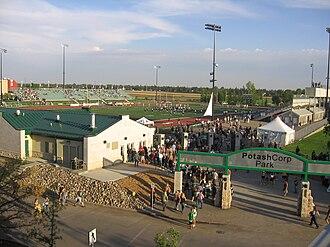 Griffiths Stadium - Image: Griffiths Stadium at Potash Corp Park