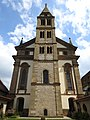 Großcomburg - St. Nikolaus Westturm.jpg