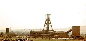 Salzgitter - Georg mine in Salzgitter in 1961