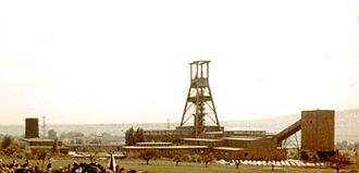 Salzgitter - Georg mine in Salzgitter in 1961