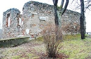 Döllersheim - School house ruins