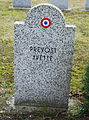 GuentherZ 2013-01-12 0312 Wien11 Zentralfriedhof Gruppe88 Soldatenfriedhof franzoesisch WK2 Prevost Yvette.JPG
