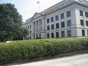 Old Guilford County Courthouse in Greensboro