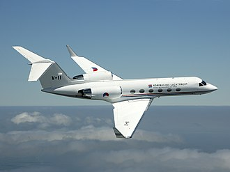 Gulfstream IV - A Gulfstream IV of the Royal Netherlands Air Force