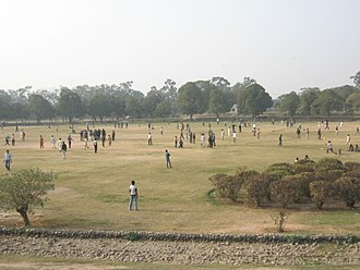 2016 Lahore suicide bombing - A photograph of Gulshan-e-Iqbal Park. The bomb was detonated by the park's main gateway (not pictured).