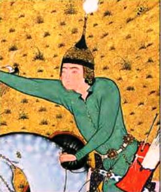 Vishtaspa - Image: Gushtasp (The Shahnama of Shah Tahmasp)