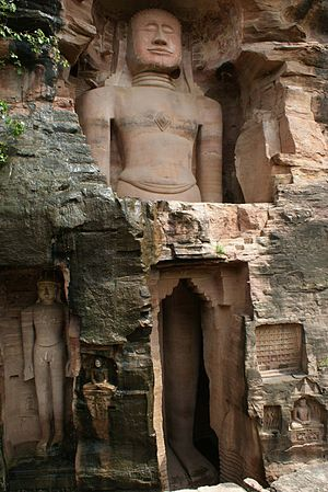 Raidhu - The Adinatha statue at the Gwalior fort was consecrated by Raidhu