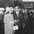 H. K. H. Prinses Margriet en Mr. Van Vollenhoven vertrekken naar het Congres van, Bestanddeelnr 922-7462.jpg