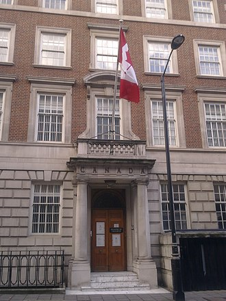 Macdonald House, London - Image: HC of Canada, London 1
