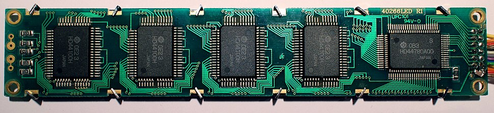 Hitachi HD44780 LCD controller - Howling Pixel