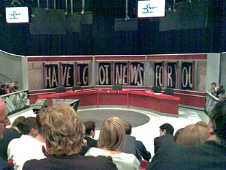 Have I Got News for You - The Have I Got News for You studio