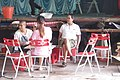 HK 西營盤 Sai Ying Pun 香港 中山紀念公園 Dr Sun Yat Sen Memorial Park 香港盂蘭勝會 Ghost Yu Lan Festival theatre stage staff 02.jpg