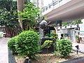 HK CWB 銅鑼灣 Causeway Bay 摩頓台 Moreton Terrace tree green leaves June 2019 SSG 01.jpg