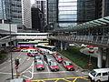 HK Central footbridge 中環 干諾道中 Connaught Road Pedder Street April-2012.JPG