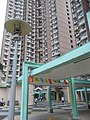 HK Chai Wan Hing Wah (I) Estate 09 covered walkway street lamp Sept-2012.JPG