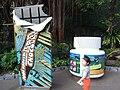 HK Ocean Park Rainforests 100% Forever Chocolate pop art Sep-2012.JPG
