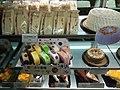 HK TKL 調景嶺港鐵站 Tiu Keng Leng MTR Station concourse shop 美心西餅 Maxim's Cake 張志霖 ChiLam 天使 angel white 生日忌廉蛋糕 Birthday cream cakes April 2019 SSG 02.jpg