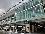 HK TST Harbour City Ocean mall sidewalk restaurant Feb-2013.JPG