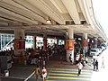 HK Tram tour view Causeway Bay 軒尼詩道 Hennessy Road 堅拿道行車天橋 Canal Road East flyover Bridge August 2018 SSG 01.jpg