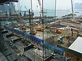 HK Wan Chai North 灣仔北 HKCEC 香港會展 06 view construction site May-2012.JPG