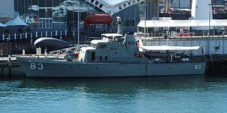 Attack-class patrol boat - Image: HMAS Advancecrop