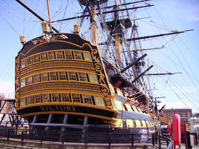 Image illustrative de l'article HMS Victory (1765)