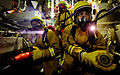 HMS Cornwall Conduct A Main Machinery Space Fire Exercise MOD 45150748.jpg