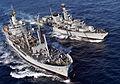 HMS Richmond RAS with RFA Black Rover MOD 45157494.jpg