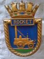 HMS Rocket ship's badge.png