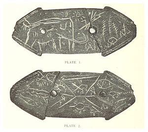 Lenape Stone - The Lenape Stone - both sides