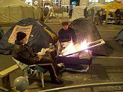 na ulicach Kijowa trwają protesty, 22 grudnia