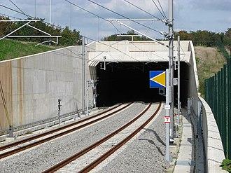 HSL 3 - Image: HSL3Walhorn Tunnel Western Portal