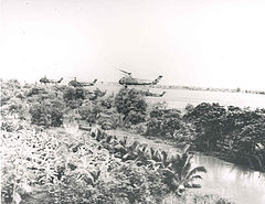 HUS-1s HMM-362 in flight Vietnam 1962.jpg