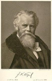 Hermann Wilhelm Vogel German photochemist and spectrum analyst