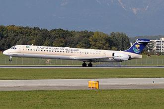 AerSale - Image: HZ APF landing in Geneva Airport