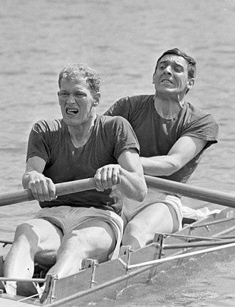 Herman Suselbeek - Hadriaan van Nes and Herman Suselbeek in 1968