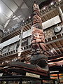 Haida totem pole at Pitt-Rivers Museum.jpg