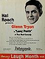 Hal Roach presents Glenn Tryon, 1926.jpg