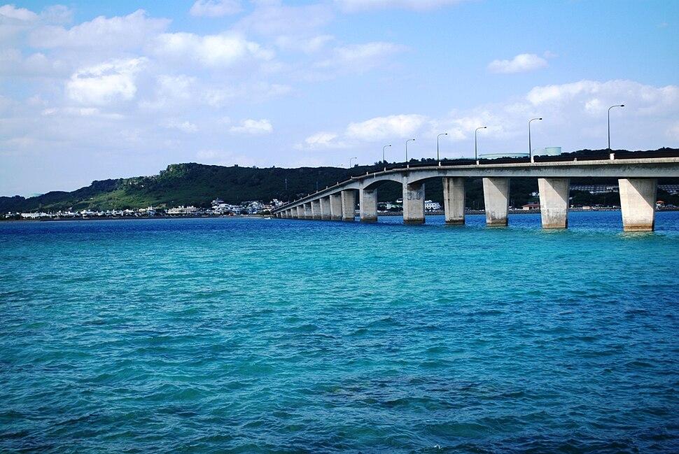 Hamahiga ohashi Bridge