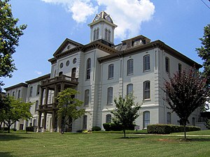 National Register of Historic Places listings in Hamblen County, Tennessee - Image: Hamblen county courthouse tn 1