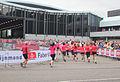 Hand in hand naar de finisch Ladiesrun 2015.jpg