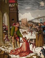 Beheading of St Dorothea