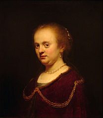 Young Woman with a Gold Chain
