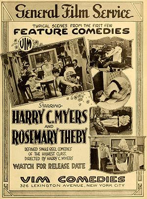 Harry Myers - Advertisement (1916)