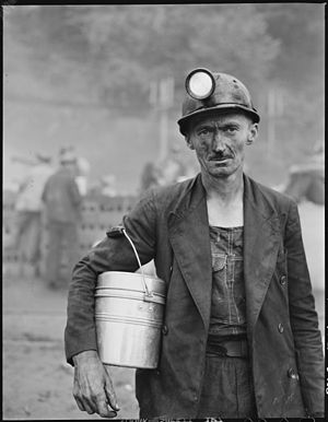 History of coal miners - Coal loader in Appalachia, 1946