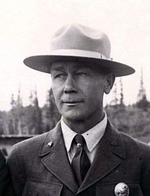 Harry Karstens - Harry Karstens in 1927 as superintendent of Mount McKinley National Park.