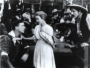 The Aryan - Scene from the film.